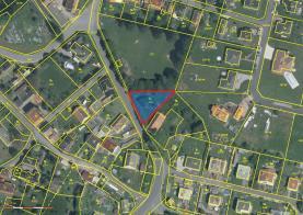 Prodej, stavební pozemek, 709 m2, Veselá, okr. Rokycany