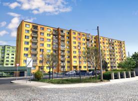 Prodej, byt 1+1, 36 m2, DV, Jirkov, ul. Alešova