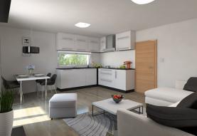 Prodej, byt, 3kk, 74 m2 se zahrádkou, Zbůch