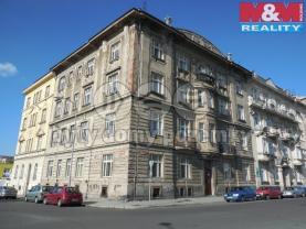 Pronájem, byt 1+kk, 25 m2, Plzeň, ul. Hálkova