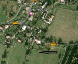 letecký pohled (Meadow, 513 m2, Děčín)
