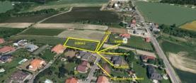 mapa - rozměry (Prodej, pozemek, 2590 m2, Ostrava - Krásné Pole), foto 2/4