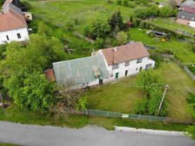 Prodej, rodinný dům 3+1, 583 m2, Hvozd-Hodovíz