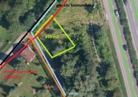 Prodej, zahrada, 555 m2, Mosty u Českého Těšína