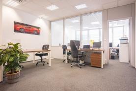 Pronájem, kancelářské prostory, 52 m2, Praha 5 - Smíchov
