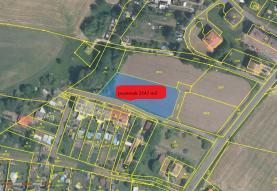 Prodej, stavební pozemek, 2147 m2, Malšovice
