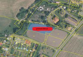 Prodej, stavební pozemek, 2258 m2, Malšovice