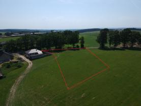 Prodej, stavební pozemek 3073 m2, Počátky