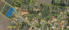 Prodej, stavební pozemek, 784 m2, Zájezdec