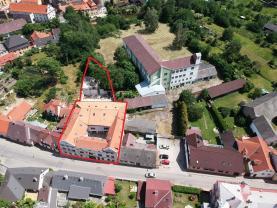 Prodej, nájemní dům, Jindřichův Hradec, ul. Nežárecká