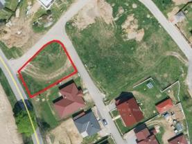 Prodej, stavební pozemek pro výstavbu RD, 754 m², Dobroutov