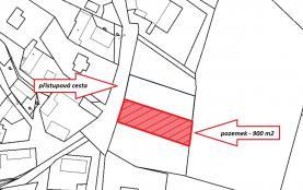 Building lot, 900 m2, Příbram, Drhovy