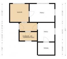 (Prodej, byt 2+1, 71 m2, Studénka, ul. Nádražní), foto 3/8