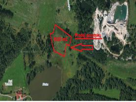 Prodej, pozemek, 8620 m2, Kozárovice