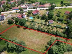 Prodej, stavební pozemek, 4998 m², Vitín