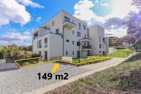 Prodej, byt 2+kk, 85 m2, zahrada, garáž, Skokanská, Praha 6