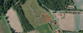 Prodej, stavební parcela, 1000 m², Drnov