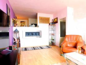 Obývací pokoj 1.2 (Prodej, byt 3+1, Litoměřice, ul. Alfonse Muchy), foto 3/15