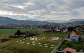 Prodej, pozemek, 1658 m2, Janovice