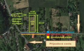 Prodej, stavební pozemek, 1135 m2, Bohumín - Skřečoň
