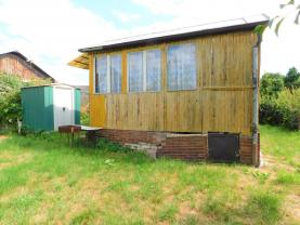 Prodej, chata, 1+1, 26 m2, Mechová, Lipová, zahrada 340 m2