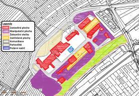 Prodej, důlní areál,vlečka, 65253 m², Mikulčice - Hodonín