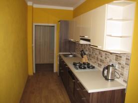 Kuchyňská linka (Flat 3+1 for rent, 73 m2, Louny, Smetanova)