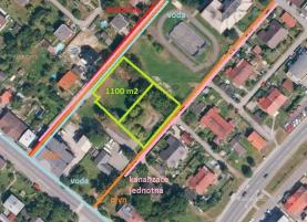 Prodej, pozemek, 1100 m², Orlová