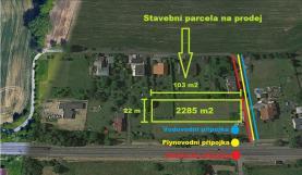 Prodej, stavební parcela, 2 258 m2, Dolní Lutyně