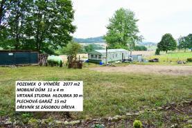 Prodej, pozemek určený k výstavbě, 2077 m2, Strakonice