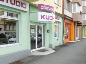 Pronájem, obchodní prostory, 51 m2, Pardubice - centrum