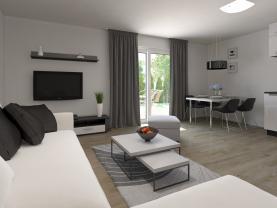 Prodej, byt 2+kk, 45 m2, Zbůch