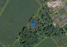 Prodej, stavební pozemek, 867 m2. Josefov