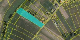 Prodej, stavební parcela, 7534 m², Ovčáry
