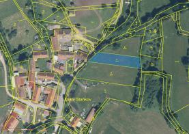 Prodej, stavební pozemek, 1311 m2, Sušice - Dolní Staňkov