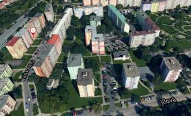 Flat 2+1 for rent, 44 m2, Olomouc, Stiborova