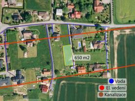 Prodej, stavební pozemek, 650 m2, Valašské Meziříčí
