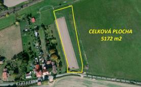 Prodej, pozemek určený k výstavbě, 5172 m², Stehlovice