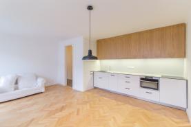 Pronájem, byt 2+kk, 48 m2, Praha 10 - Vršovice