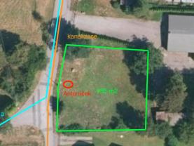 Prodej, pozemek, 985 m2, Dolní Lutyně