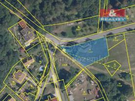 Prodej pozemku k bydlení, 1407 m², Vysoký Chlumec