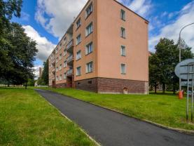 Pronájem, byt 2+1, 52 m2, Planá,ul. Fučíkova