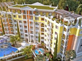 Prodej bytu 1+kk, 51 m², Bulharsko, Sluneční pobřeží