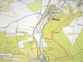 mapka (Prodej, louka, 2520 m², Hřivice), foto 2/6