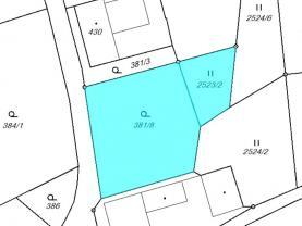 Prodej, pozemek, 1174 m2, Kunvald