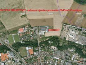 Prodej, pole, 2045 m², Prostějov