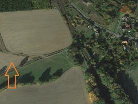 Prodej pole, 6318 m², Srby