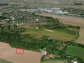 Prodej pole, 6800 m², Dobřejovice