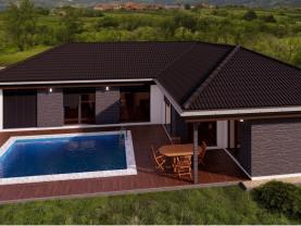 Prodej, rodinný dům ve výstavbě 5+kk, 185 m², Štíhlice