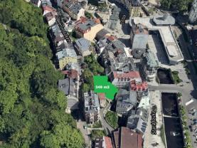 Prodej, stavební pozemek, 349 m², Karlovy Vary